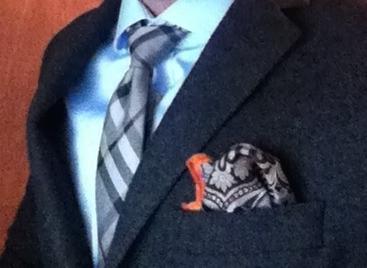 fazzoletto giacca elegante
