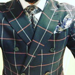 abito doppio petto uomo