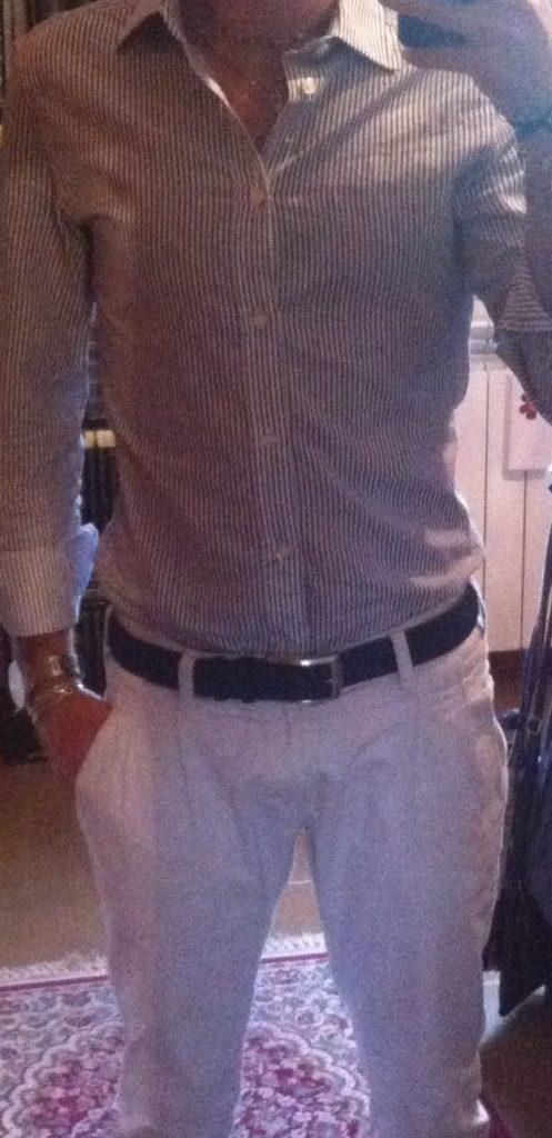 camicia e jeans uomo