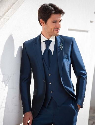 Vestito Matrimonio Uomo Viola : Abito da sposo eleganza maschile