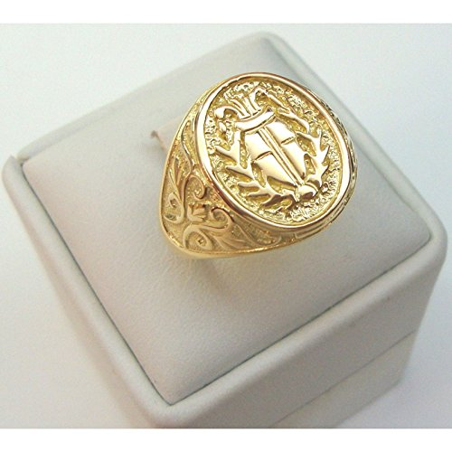 anelli uomo oro