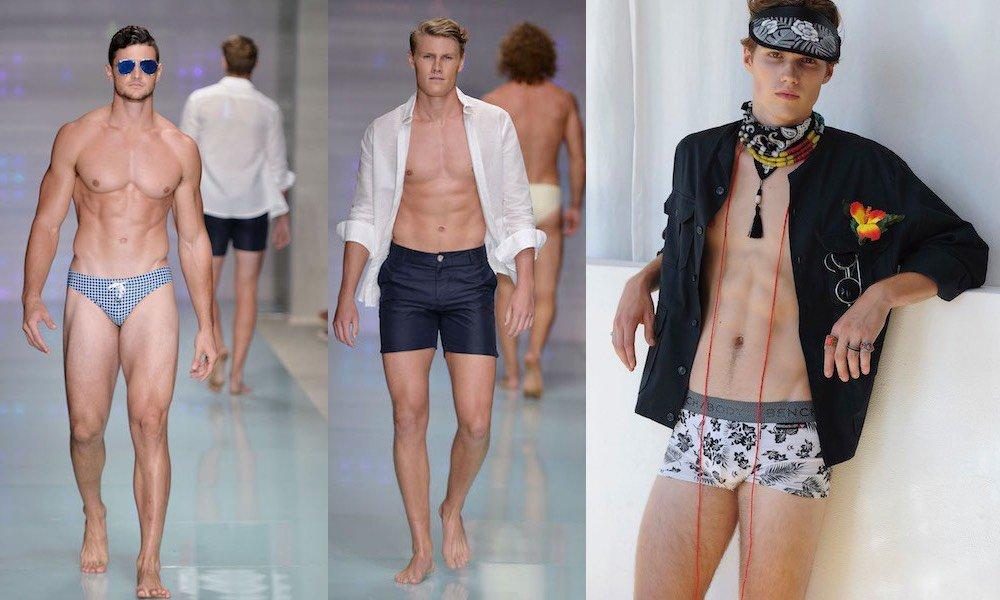 Moda mare uomo ecco cosa indossare in spiaggia quest anno - Come creare costumi da bagno ...