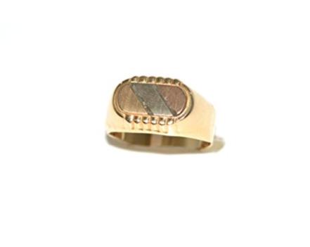 anelli d'oro uomo