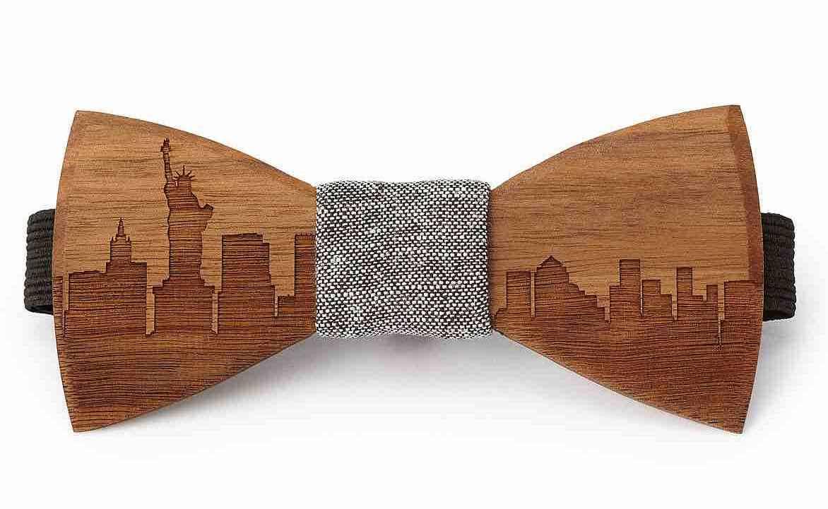 papillon legno uomo