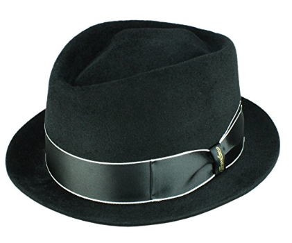 cappello tesa larga uomo